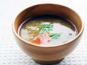 春野菜の味噌汁